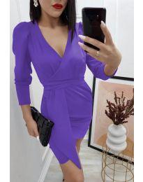 Φόρεμα - κώδ. 0515 - μωβ