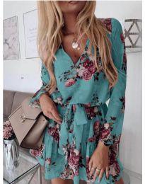 Φόρεμα - κώδ. 391 - τυρκουάζ