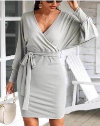 Φόρεμα - κώδ. 1197 - γκρι