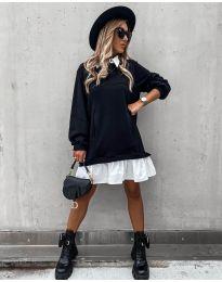 Φόρεμα - κώδ. 5516 - μαύρο