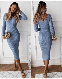 Φόρεμα - κώδ. 928 - γαλάζιο