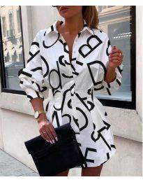 Φόρεμα - κώδ. 749 - λευκό