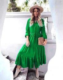 Φόρεμα - κώδ. 6522 - πράσινο