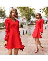 Φόρεμα - κώδ. 1478 - 1 - κόκκινο