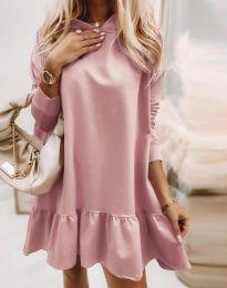 Φόρεμα - κώδ. 9376 - πούδρα