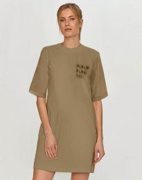 Κοντομάνικο μπλουζάκι - κώδ. 5398 - μπεζ