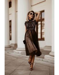 Φόρεμα - κώδ. 8090 - μαύρο