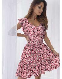 Φόρεμα - κώδ. 6088 - κοραλί