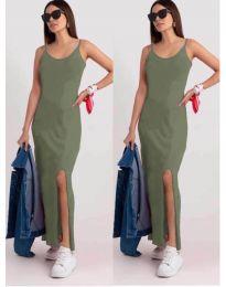 Φόρεμα - κώδ. 3000 - ανοιχτό πράσινο