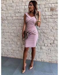 Φόρεμα - κώδ. 1104 - ροζ