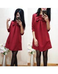 Φόρεμα - κώδ. 498 - μπορντό