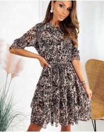 Φόρεμα - κώδ. 8877 - 3 - πολύχρωμο