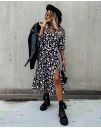 Φόρεμα - κώδ. 2745 - πολύχρωμο
