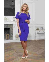 Φόρεμα - κώδ. 3698 - σκούρο μπλε