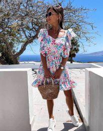 Φόρεμα - κώδ. 2652 - πολύχρωμο