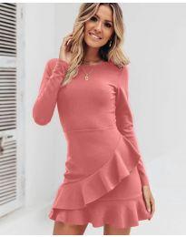 Φόρεμα - κώδ. 2909 - πούδρα