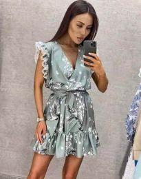Φόρεμα - κώδ. 8125 - γκρι