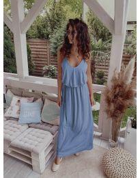 Φόρεμα - κώδ. 635 - γαλάζιο
