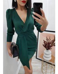 Φόρεμα - κώδ. 0515 - σκούρο πράσινο
