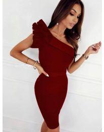 Φόρεμα - κώδ. 2049 - 1 - μπορντό