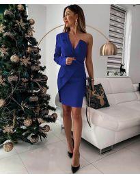Φόρεμα - κώδ. 15944 - 1 - μπλε