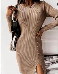 Φόρεμα - κώδ. 3200 - καπουτσίνο