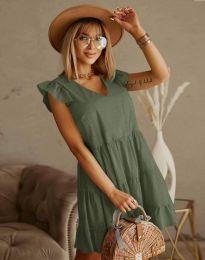 Φόρεμα - κώδ. 6224 - λαδί