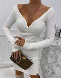 Φόρεμα - κώδ. 12065 - 1 - λευκό