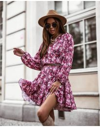 Φόρεμα - κώδ. 134 - 4 - πολύχρωμο
