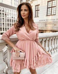Φόρεμα - κώδ. 0545 - πούδρα