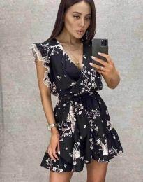 Φόρεμα - κώδ. 8125 - μαύρο