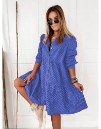 Φόρεμα - κώδ. 5557 - μπλε