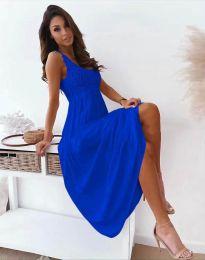 Φόρεμα - κώδ. 4807 - σκούρο μπλε