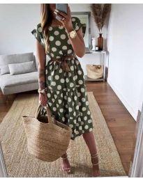 Φόρεμα - κώδ. 1415 - πράσινο