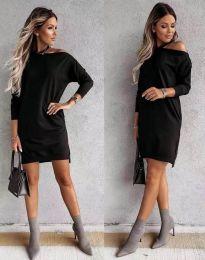 Φόρεμα - κώδ. 8858 - μαύρο