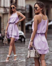 Φόρεμα - κώδ. 2104 - ανοιχτό μωβ