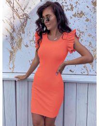 Φόρεμα - κώδ. 199 - πορτοκαλί