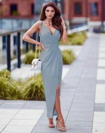 Φόρεμα - κώδ. 6135 - γαλάζιο