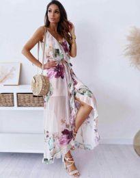 Φόρεμα - κώδ. 4800 - 1 - πολύχρωμο
