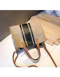 Τσάντα - κώδ. B103 - 3 - καπουτσίνο
