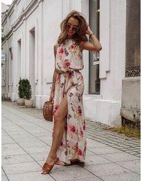 Φόρεμα - κώδ. 6711 - πολύχρωμο
