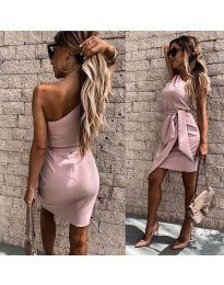 Φόρεμα - κώδ. 2457 - ροζ