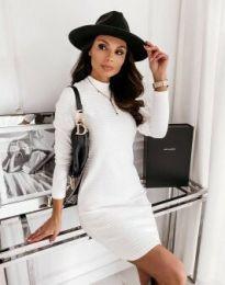 Φόρεμα - κώδ. 7092 - λευκό
