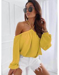 Μπλούζα - κώδ. 6561 - κίτρινο