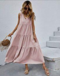 Φόρεμα - κώδ. 8149 - ροζ