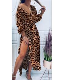 Φόρεμα - κώδ. 5454 - 10 - πολύχρωμο