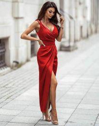 Φόρεμα - κώδ. 6135 - κόκκινο