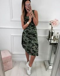 Φόρεμα - κώδ. 3878 - 1 - πολύχρωμο