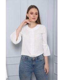 Μπλούζα - κώδ. 0629 - 6 - λευκό