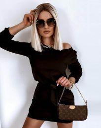 Φόρεμα - κώδ. 12038 - μαύρο